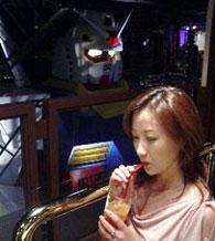 drinking with gundam